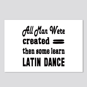 Some Learn Latin dance Postcards (Package of 8)