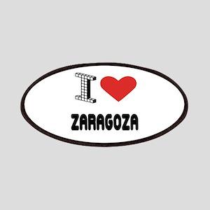 I Love Zaragoza City Patch
