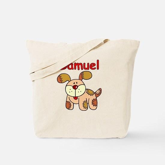 Samuel Puppy Tote Bag