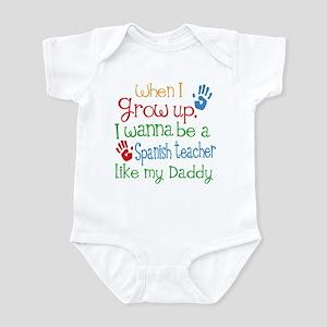 Spanish Teacher Like Daddy Infant Bodysuit