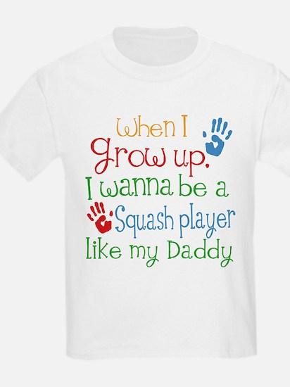 Squash Player Like Daddy T-Shirt