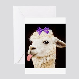 Alpaca or LLama? Greeting Cards