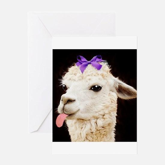 Alpaca or LLama? Greeting Cards