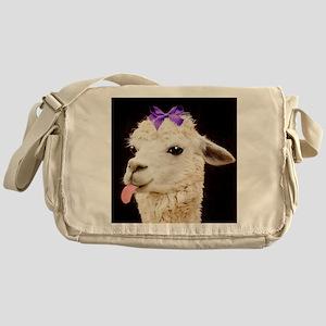 Alpaca or LLama? Messenger Bag