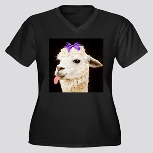 Alpaca or LLama? Plus Size T-Shirt