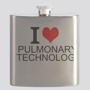I Love Pulmonary Technology Flask