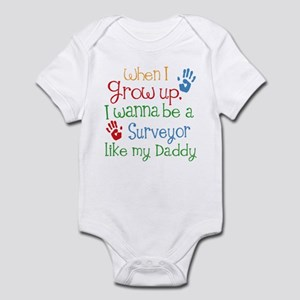 Surveyor Like Daddy Infant Bodysuit