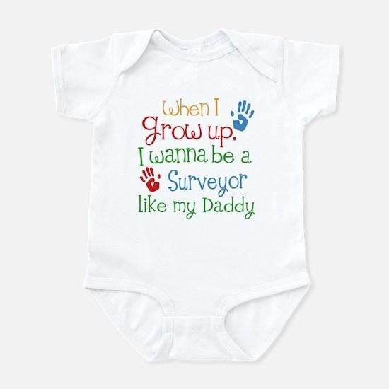 Surveyor Like Daddy Infant Bodysuit