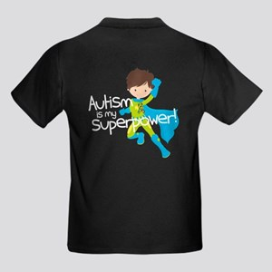 Autism Superpower Kids Dark T-Shirt