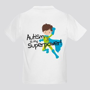 Autism Superpower Kids Light T-Shirt