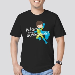 Autism Superpower Men's Fitted T-Shirt (dark)