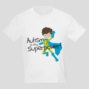 Autism Superpower Kids Light T-Shirt