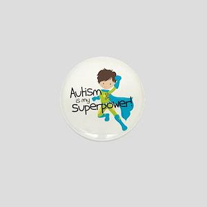 Autism Superpower Mini Button