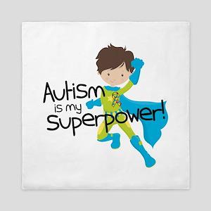 Autism Superpower Queen Duvet