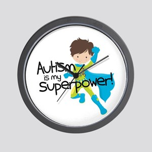 Autism Superpower Wall Clock