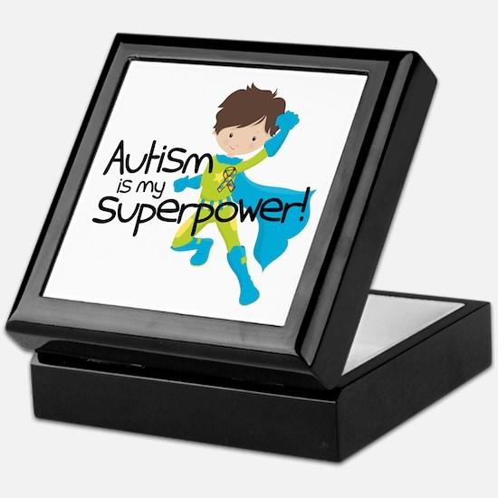 Autism Superpower Keepsake Box