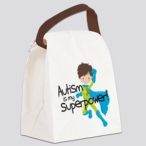 Autism Superpower Canvas Lunch Bag