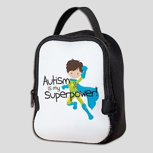 Autism Superpower Neoprene Lunch Bag
