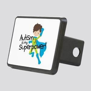 Autism Superpower Rectangular Hitch Cover
