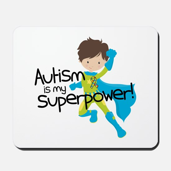 Autism Superpower Mousepad