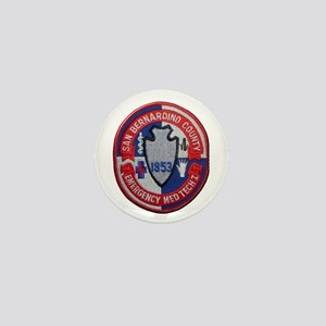 San Bernardino County EMT Mini Button