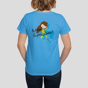 Autism Superpower Women's Dark T-Shirt