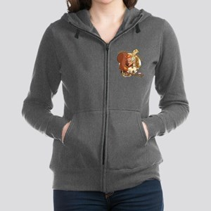 Squirrel Girl Nuts Women's Zip Hoodie