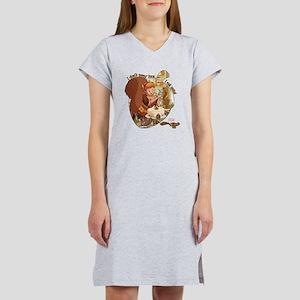 Squirrel Girl Nuts Women's Nightshirt