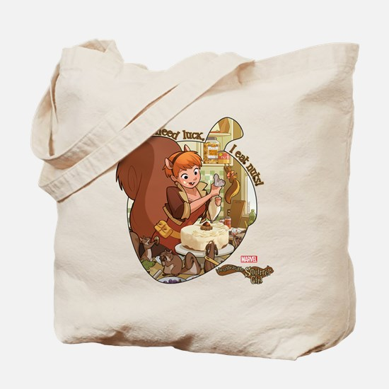 Squirrel Girl Nuts Tote Bag