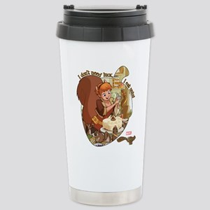Squirrel Girl Nuts Stainless Steel Travel Mug