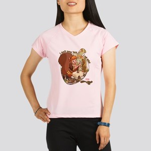 Squirrel Girl Nuts Performance Dry T-Shirt