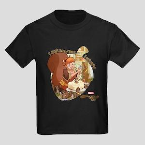 Squirrel Girl Nuts Kids Dark T-Shirt