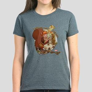 Squirrel Girl Nuts Women's Dark T-Shirt