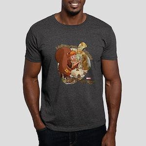 Squirrel Girl Nuts Dark T-Shirt