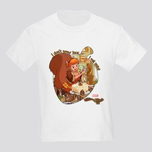 Squirrel Girl Nuts Kids Light T-Shirt