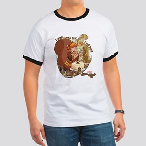 Squirrel Girl Nuts Ringer T