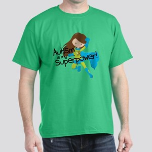 Autism Superpower Dark T-Shirt