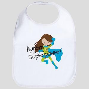 Autism Superpower Bib