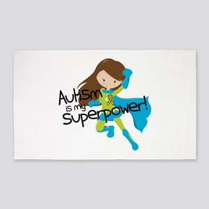 Autism Superpower Area Rug