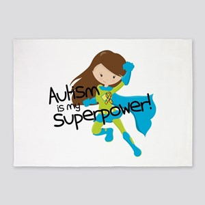 Autism Superpower 5'x7'Area Rug