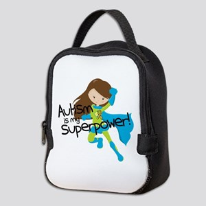 Autism Superpower Neoprene Lunch Bag