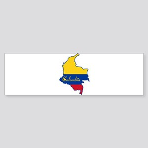 Cool Colombia Bumper Sticker
