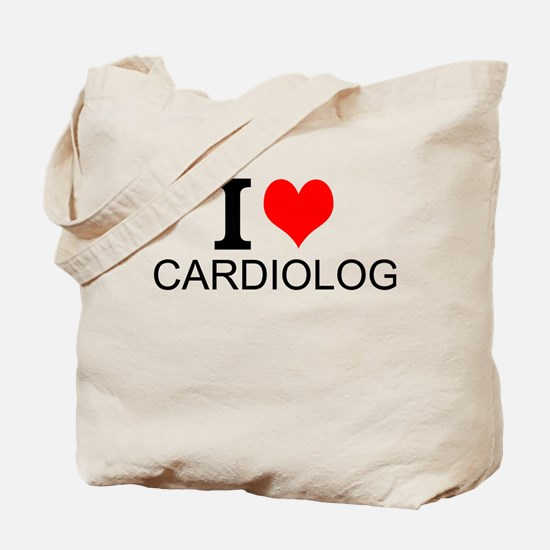 I Love Cardiology Tote Bag