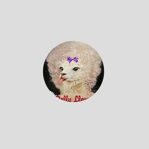 Dolly Llama Mini Button
