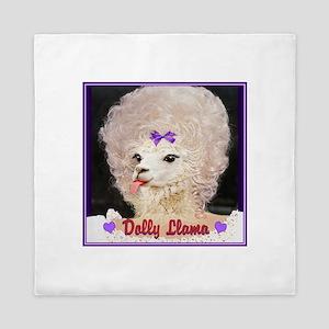 Dolly Llama Queen Duvet