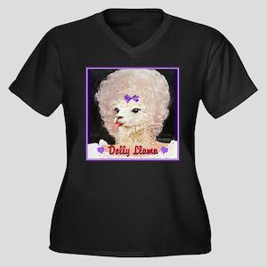Dolly Llama Plus Size T-Shirt