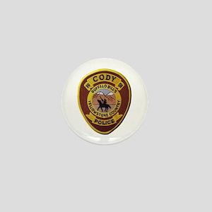 Cody Wyoming Police Mini Button