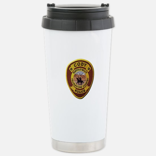 Cody Wyoming Police Travel Mug