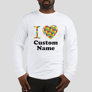 Autism Heart Long Sleeve T-Shirt