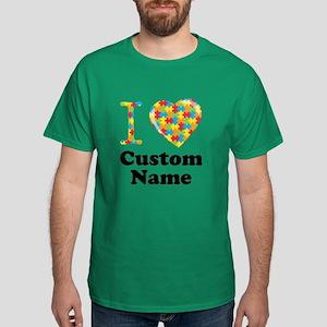 Autism Heart Dark T-Shirt